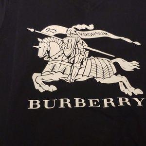 Burberry Tops - Burberry V neck Tshirt